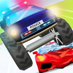 Police vs Thief 3D - car race