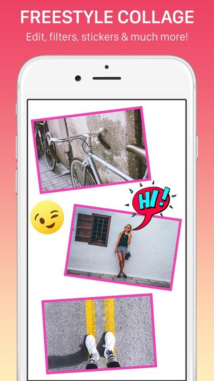 Photo Collage, Mixgram Editor screenshot-6