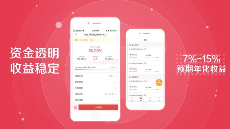 车蚁金服-16%短期高收益投资理财平台 screenshot-6