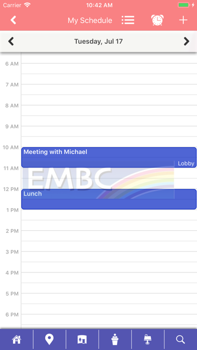 EMBC Mobile screenshot three