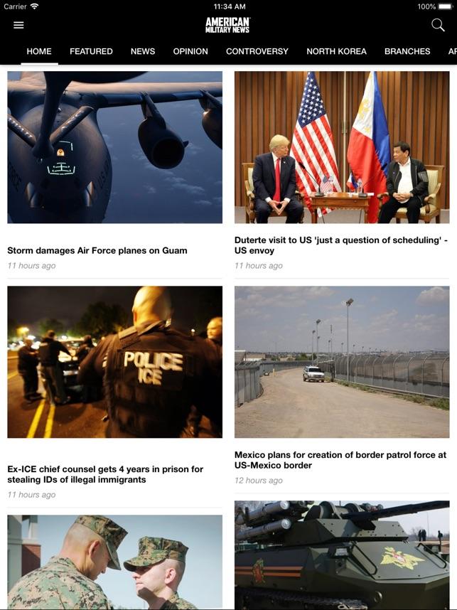 american military news をapp storeで