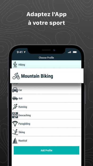 TwoNav Premium: Carte Sentiers