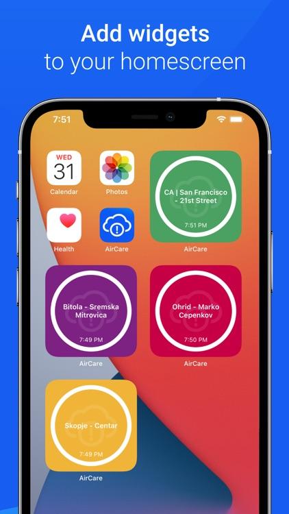 Air Quality - AirCare screenshot-5