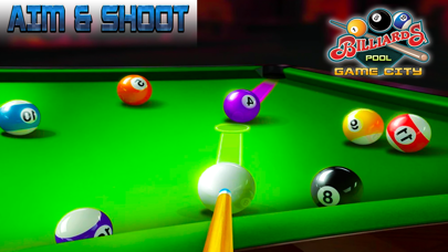 Pool Billiard game City 3D screenshot three