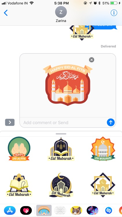 Islamic Stickers - Eid Sticker screenshot-3