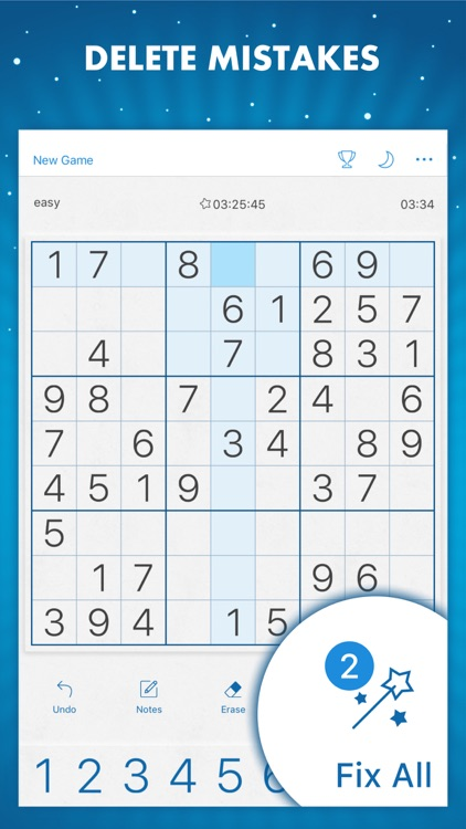 Sudoku Genuine Classic Puzzles screenshot-6