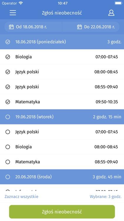 iDziennik Mobile Szczecin screenshot-4