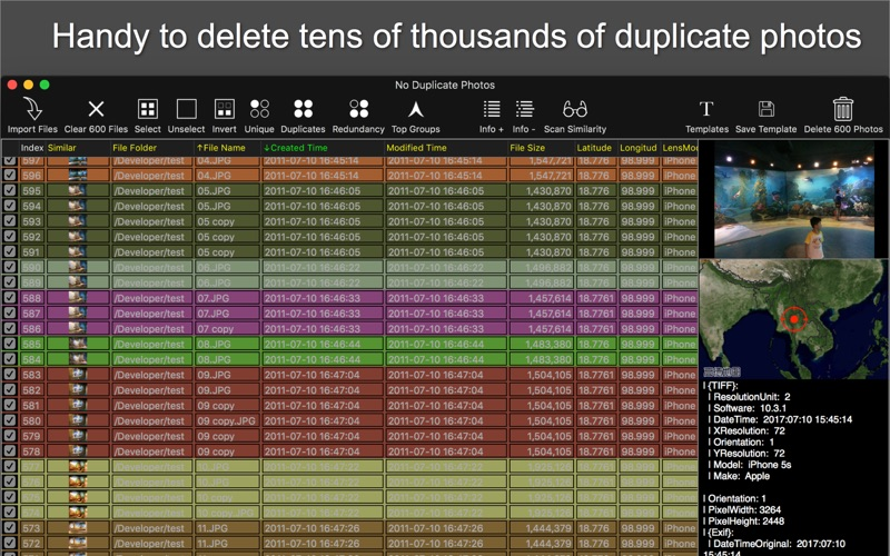 No Duplicate Photos for Mac