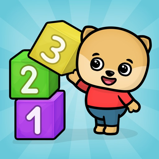 Учим цифры - игра для малышей
