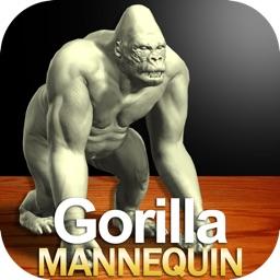 Gorilla Mannequin