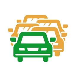 渋滞情報マップ(渋滞・高速道路・渋滞予測)