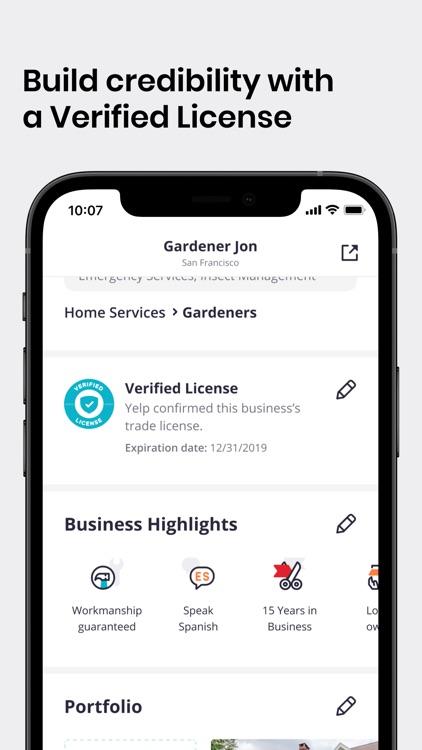 Yelp for Business screenshot-4