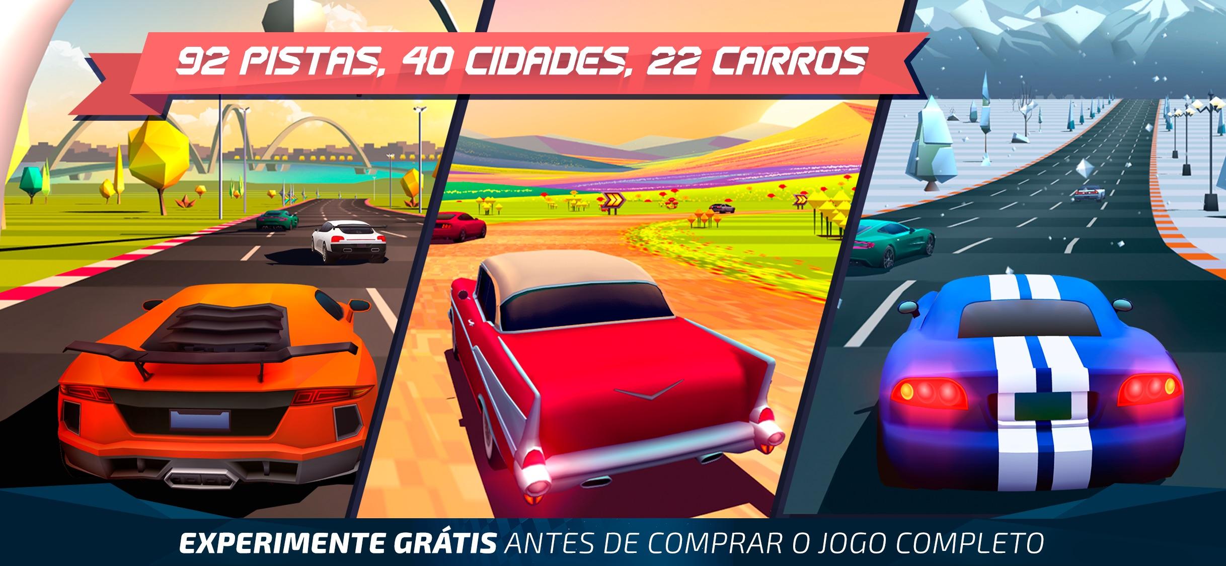 Screenshot do app Horizon Chase