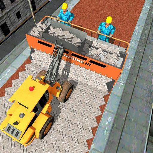 Bricks Road Builder Simulator