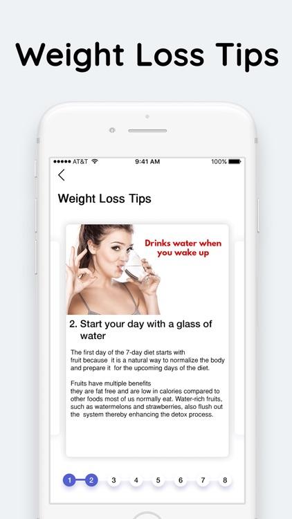 Diet Plan For Weight Loss screenshot-4