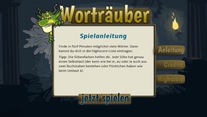 Screenshot for Worträuber in Germany App Store