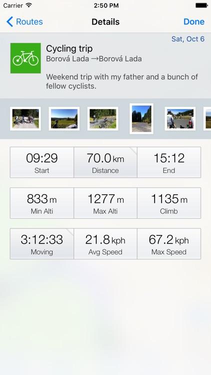 Routie ~ GPS sports tracker screenshot-3