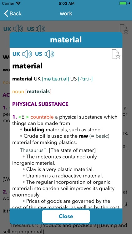 CAMDICT - Learner's Dictionary screenshot-3