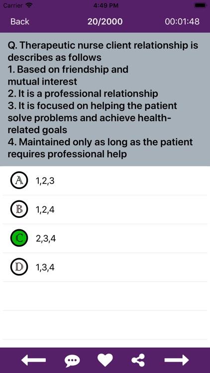 Fundamentals of Nursing Mock screenshot-6