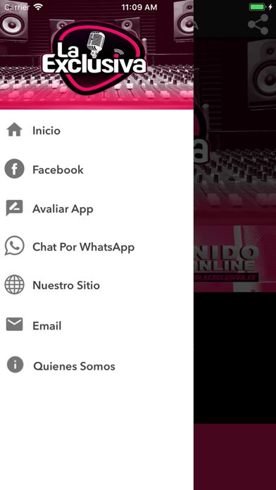 Radio La Exclusiva screenshot two