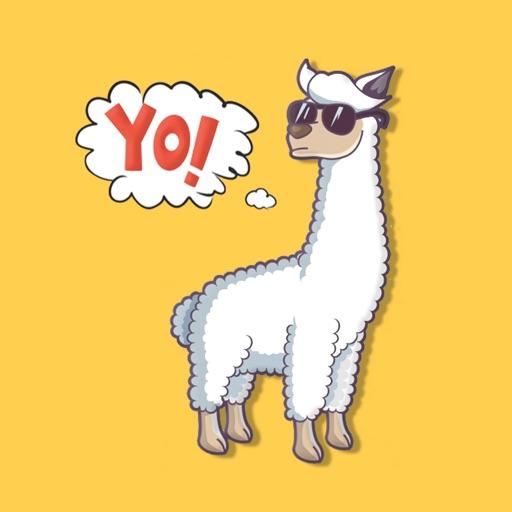 Llama Alpaca Stickers