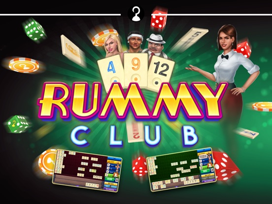 iPad Image of Rummy Club!
