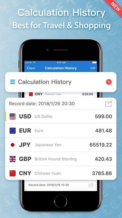 iMoney · Currency Converter screenshot-3