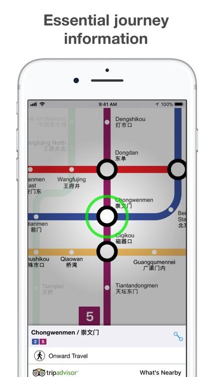 Beijing Subway - MTRC map