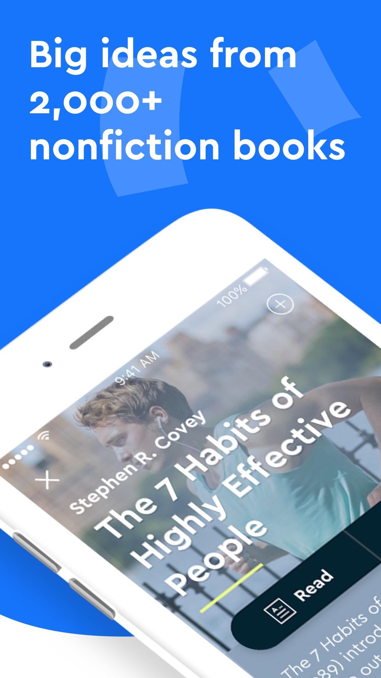 Blinkist: Read More Nonfiction Screenshot