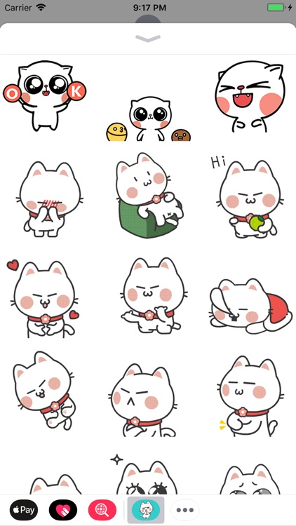Fluffy Cat Animated Stickers screenshot-1