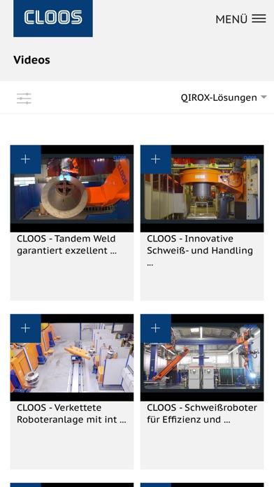 CLOOS AppScreenshot von 7
