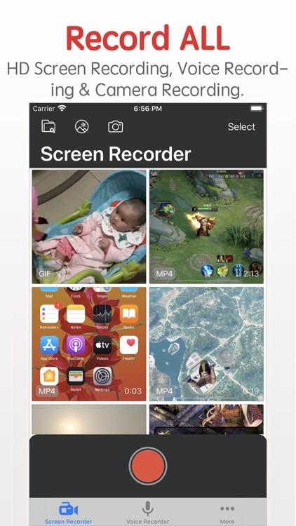 Screen Recorder -Fast Recorder screenshot-0