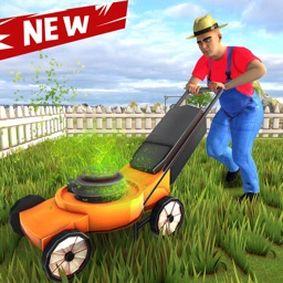 Lawn Mowing Grass Cutting Game