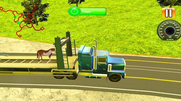 Zoo Animal Transport Truck screenshot-4