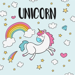 Unicorn World Stickers