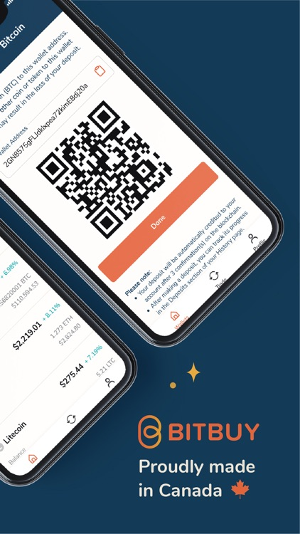 Bitbuy: Buy Bitcoin Canada screenshot-4