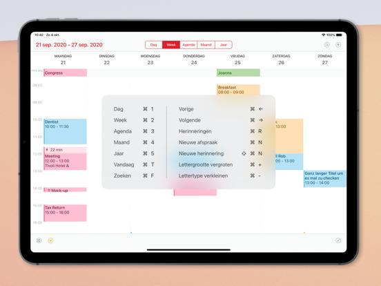 Calendar 366 iPad app afbeelding 8
