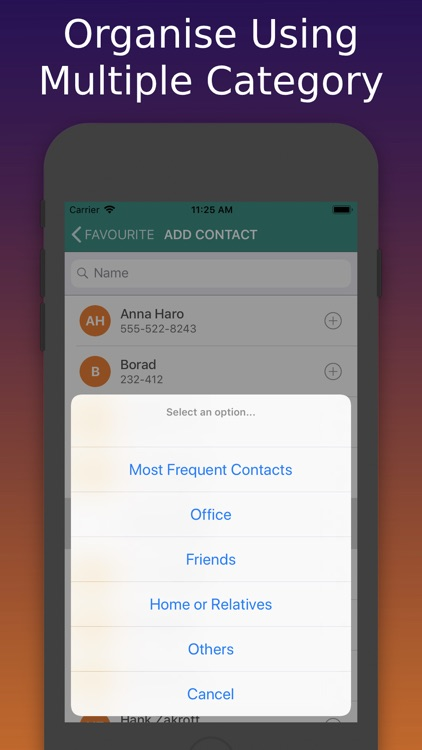 Contacts Widget & Manager screenshot-8