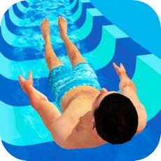 Activities of Water Park Slide Adventure