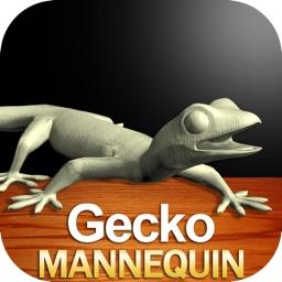 Gecko Mannequin