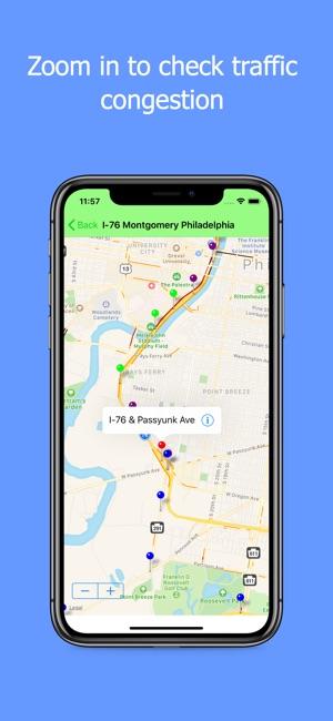 Philadelphia Traffic On The App Store