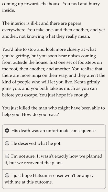 Choice of the Ninja screenshot-4