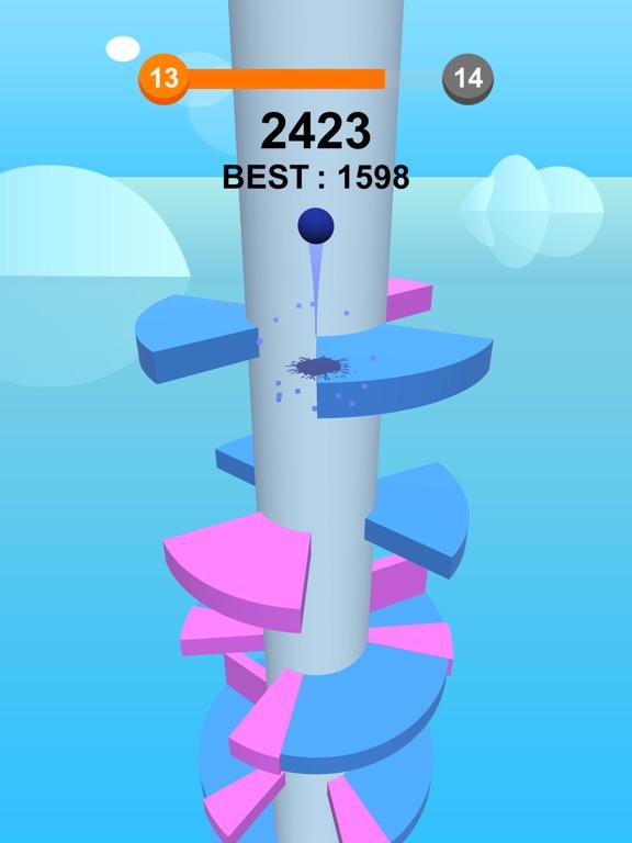 Jump Ball-Bounce On Tower Tile-ipad-3