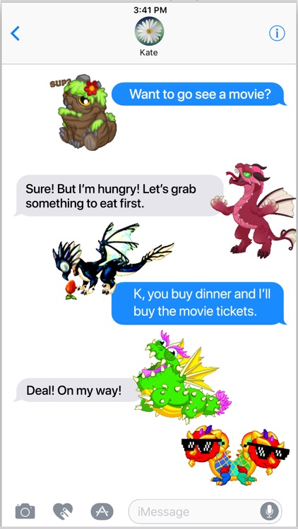 DragonVale Stickers screenshot-3