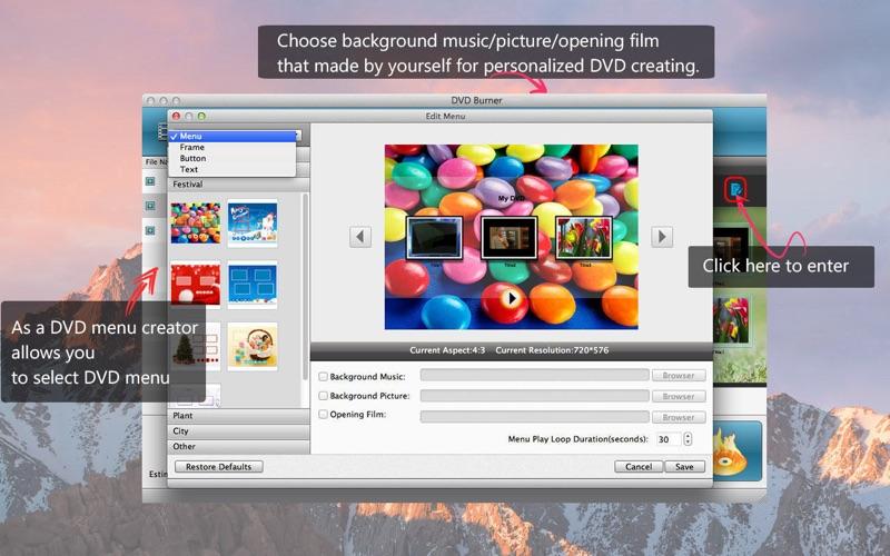 Screenshot #2 for DVD Burner - Create DVD