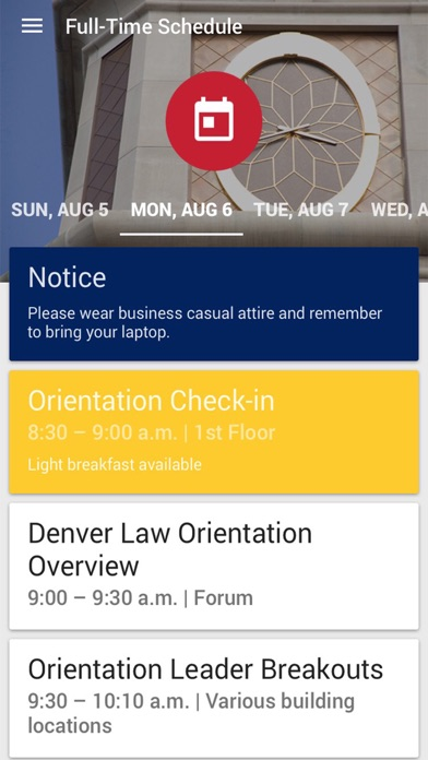 Sturm Law Orientation 2018 | App Price Drops