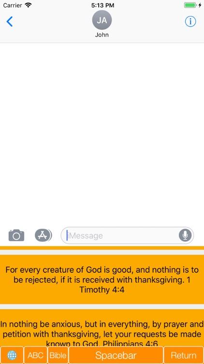 Bible Verse Keyboard