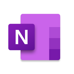 Ícone do app Microsoft OneNote