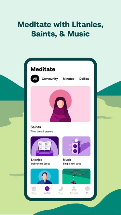 Hallow: Catholic Meditation screenshot-4