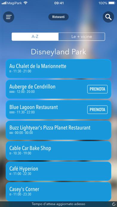 Screenshot of MagiPark per Disneyland Paris6